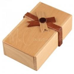 Casse-Tête en Bois : La Boîte Cadeau