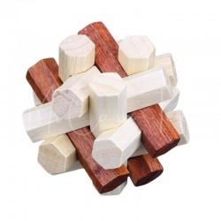 Casse-Tête en bois : L'Astrodécaèdre